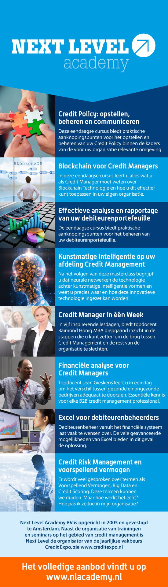 Next Level Academy opleiding GRATIS bij MaxCredible licenties.